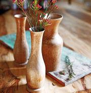 Дерев`яні вази